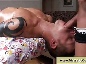 Swallow huge cock