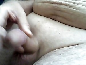 Masturbating with cum