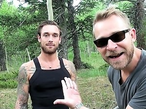 Biggus Dickus - Hung Stud Ethan Ever Takes Naked Hike - Colorado Mountains