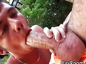 Deepthroat that huge cock